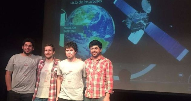 Photo of Argentinos ganadores del Nasa Space Apps 2017 buscan financiamiento para viajar