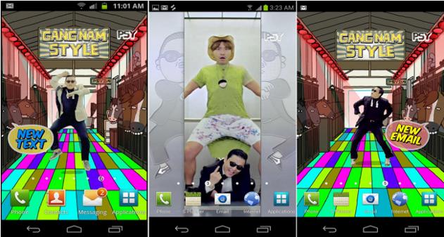 gangnam style wallpaper app