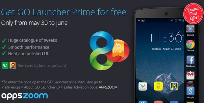 Photo of Cómo tener GO Launcher Premium gratis (promoción limitada)