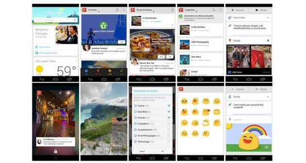 Photo of Novedades de las aplicaciones de Google+ para iPhone y Android