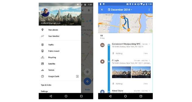 Photo of Google Maps presenta un Timeline para mostrar los lugares donde estuviste