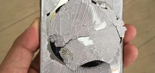 iPhone X quebrado