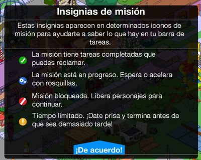 insignias de mision