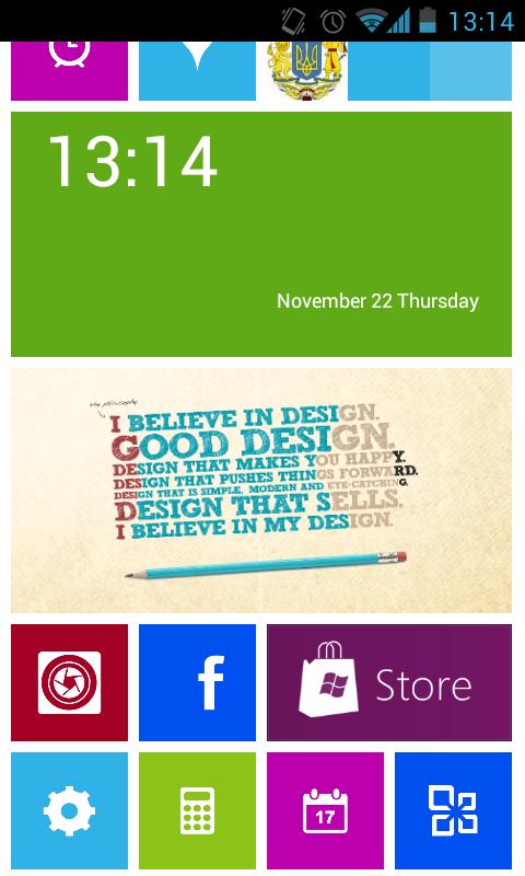 launcher WP8 - aplicaciones iconos