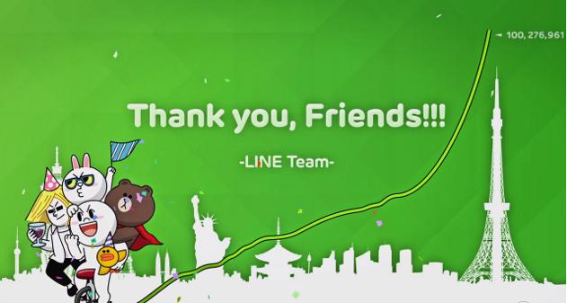 Photo of Line alcanza los 100 millones de usuarios