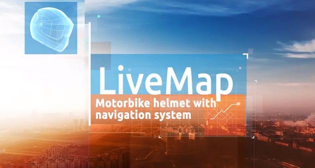 Photo of LiveMap: El casco con sistema de navegación con realidad aumentada