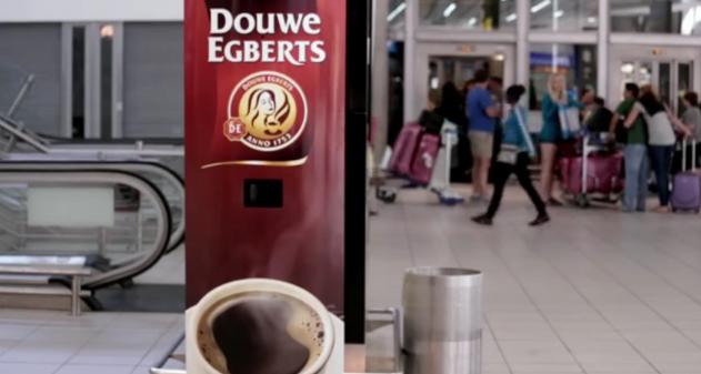 Photo of [Video] Maquina expendedora de café que funciona a bostezos