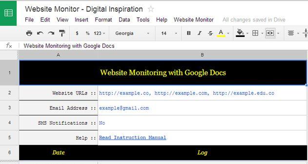 Photo of Como monitorear tu web gratis con Google Docs