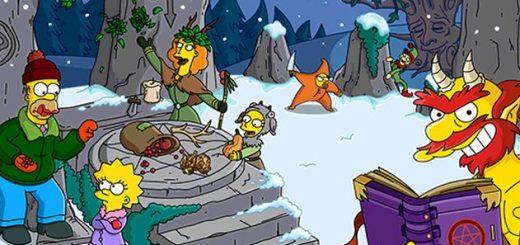 Navidad 2016 Los Simpson