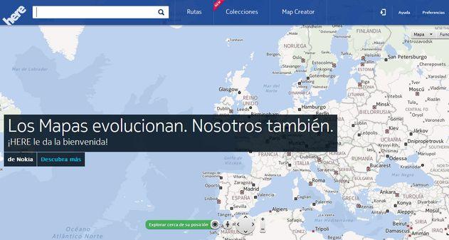 Photo of Here, la sorprendente aplicación de mapas de Nokia