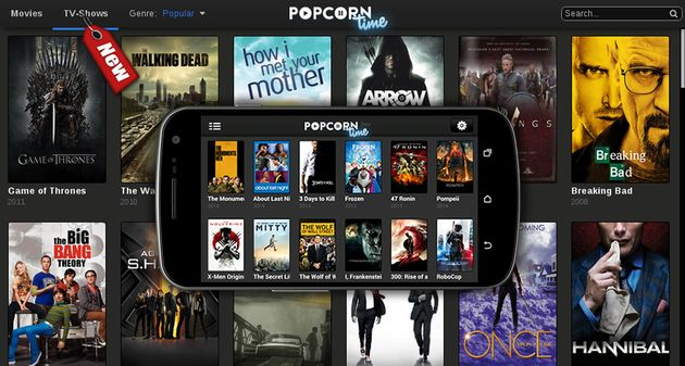 Photo of Popcorn Time lanza aplicación oficial para Android