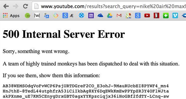 Problemas con YouTube