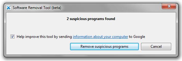 programas sospechosos