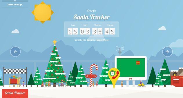 Photo of Santa Tracker, una aplicación especial de Google para Navidad