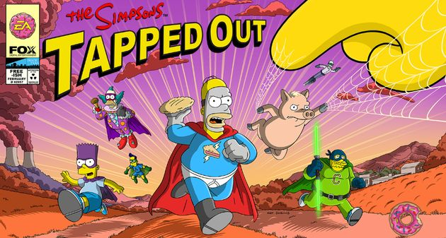 simpson superheroes