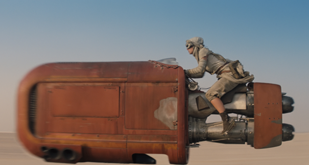 Photo of Experimenta «Star Wars Episodio VII» con este vídeo 360º