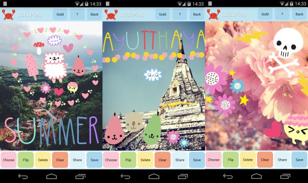 stickpics app