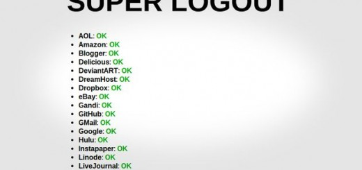 Superlogout
