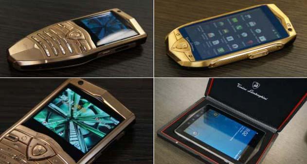 Photo of Lamborghini nos muestra su smartphone y Tablet