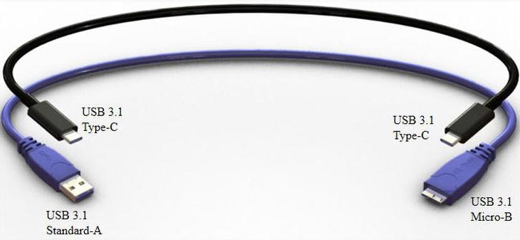 USB 3.1 Tipo-C
