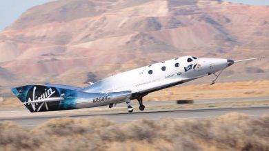 Photo of [Video] Impresionantes imágenes del primer vuelo supersónico de Virgin Galactic