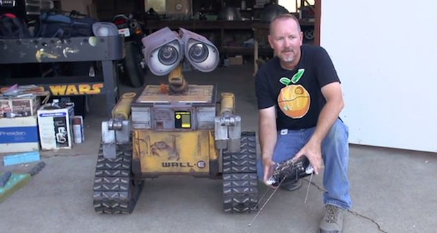 Photo of [Geek Week] Construyen un Wall-e en tamaño real totalmente operativo