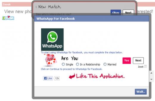 whatsapp para facebook