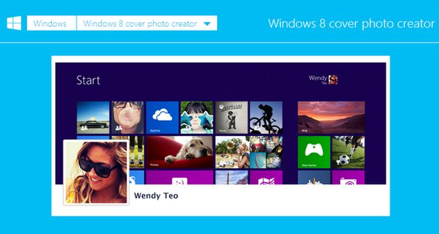 Photo of Windows lanza app para crear una portada de facebook al estilo Windows 8